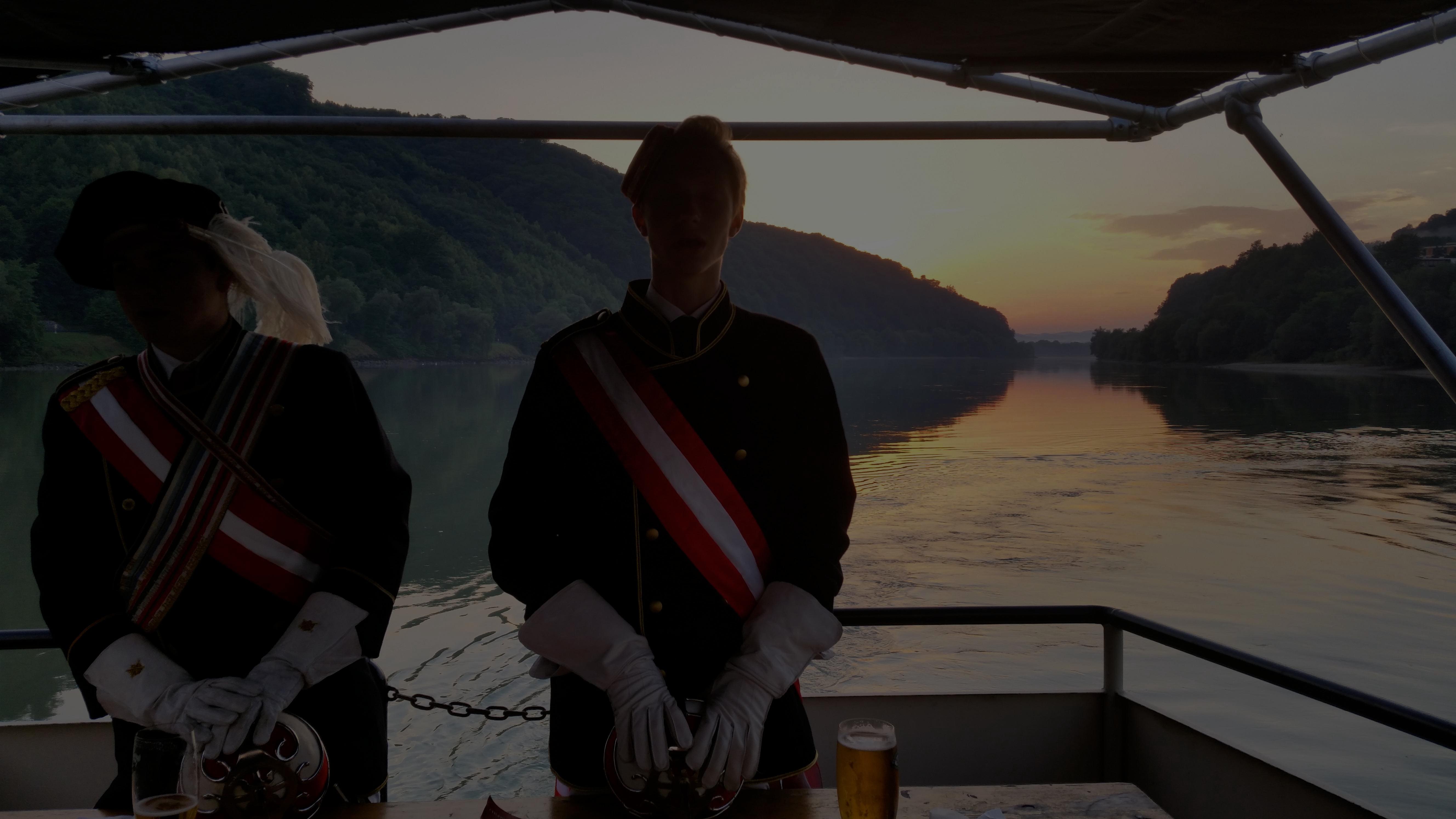 Amelungia auf der Donau